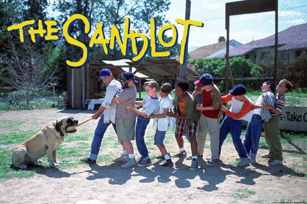 "The Sandlot (1993) Baseball Movie ""Boys vs. Beast"" Poster - Pyramid America"