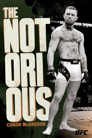 "Conor McGregor ""NOTORIOUS"" (In the Octagon) UFC Superstar Wall POSTER (2017) - Pyramid Posters"