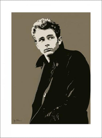 James Dean American Icon Premium Poster Print - Pyramid Posters