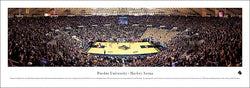 Purdue Basketball Rivalry Night at Mackey Arena Panoramic Poster Print - Blakeway 2010