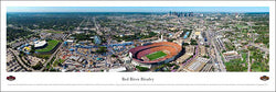 Red River Rivalry (Cotton Bowl, Dallas) Aerial Panoramic Poster Print - Blakeway 2009