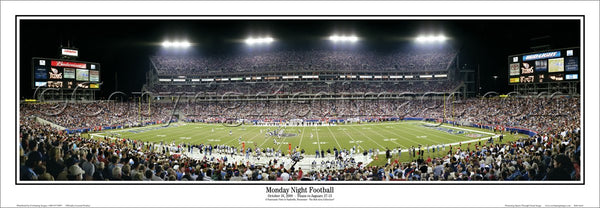 "Tennessee Titans ""Monday Night Football"" Stadium Game Night Panoramic Poster - Everlasting Images"