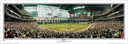 Houston Astros 2004 NLCS Game 4 Minute Maid Park Panoramic Poster Print - Everlasting Images