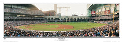 "Houston Astros ""First Pitch 2000"" Minute Maid Park Panoramic Poster Print - Everlasting Images"