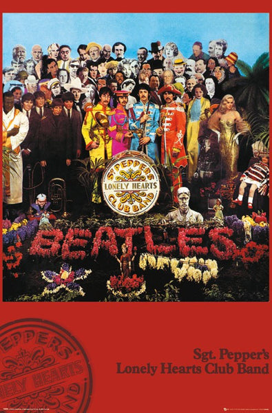 The Beatles Sgt Pepper's Lonely Hearts Club Band (1967) Album Cover Poster - Trends International