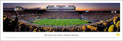 "Iowa Hawkeyes ""Touchdown"" Kinnick Stadium Panoramic Poster Print - Blakeway Worldwide"