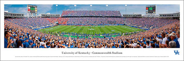 Kentucky Wildcats Football Commonwealth Stadium Gameday - Blakeway Worldwide