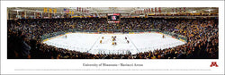 University of Minnesota Hockey Mariucci Arena Game Night Panoramic Poster - Blakeway