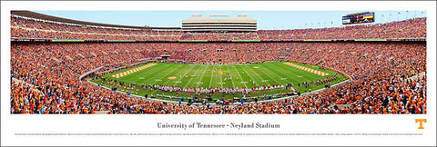 "Tennessee Vols Football ""Georgia Game 2009"" Panoramic Poster Print - Blakeway"