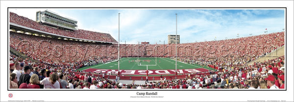 Wisconsin Badgers Football Gameday Camp Randall (1999) Panoramic Poster Print - Everlasting Images