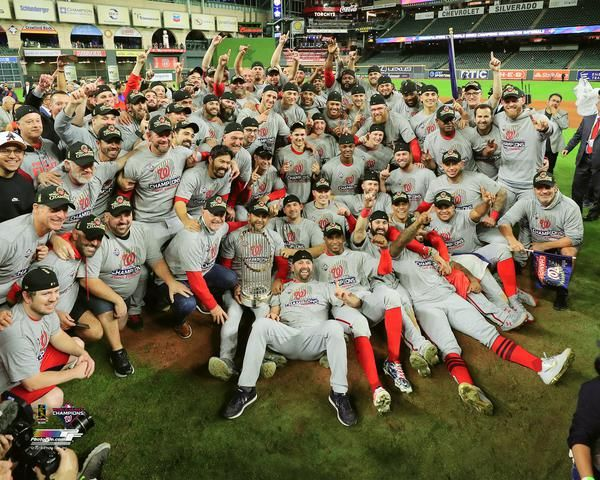 "Washington Nationals 2019 World Series Champions ""Celebration Portrait"" Premium Poster Print - Photofile Inc."