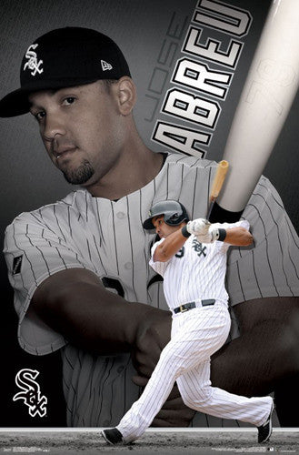 "Jose Abreu ""South Side Bomber"" Chicago White Sox Poster - Trends International"
