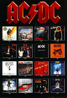 AC/DC Albums 1975-1995 - Import Images Inc.