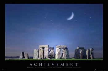 """Achievement"" (Moonrise over Stonehenge) - GB Eye (UK)"