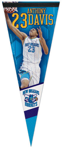 "Anthony Davis ""Launch"" New Orleans Hornets Premium Felt Collector's Pennant - Wincraft"