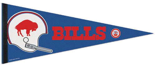 "Buffalo Bills ""AFL 50"" Commemorative Premium Felt Collector's Pennant - Wincraft"