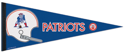 Boston Patriots (AFL 1960-70 Style) Premium Felt Commemorative Pennant - Wincraft Inc.