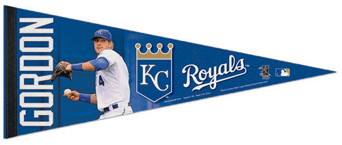 "Alex Gordon ""Superstar"" K.C. Royals Premium Felt Collector's Pennant - Wincraft"