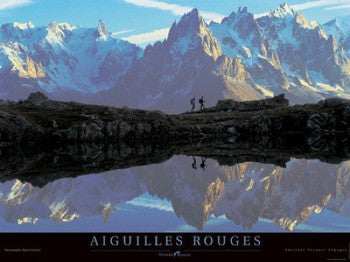 """Aiguilles Rouges"" High Mountain Climbing (French Alps)"