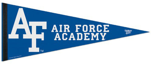Air Force Academy Falcons AF-Style NCAA Team Logo Premium Felt Pennant - Wincraft Inc.