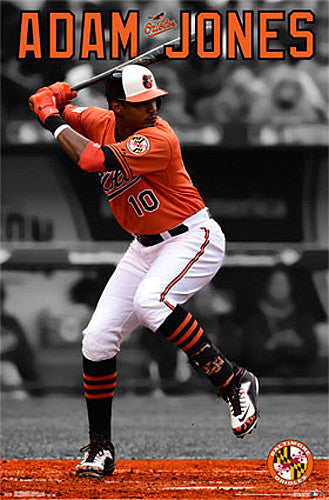 "Adam Jones ""Orange Crush"" Baltimore Orioles Poster - Trends International"