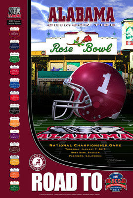 "Alabama Crimson Tide ""Road to the BCS"" - Action Images 2010"