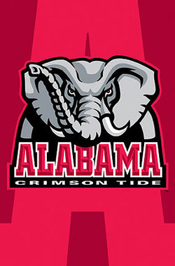 Alabama Crimson Tide Official Team Logo Poster - Costacos Sports