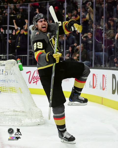 "Alex Tuch ""Goal!"" Vegas Golden Knights Premium NHL Poster Print - Photofile 16x20"