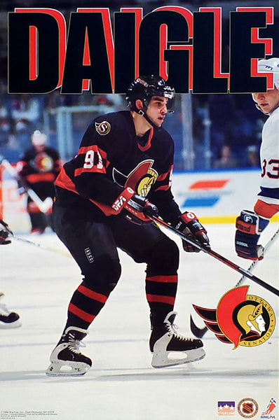 "Alexandre Daigle ""Action"" Ottawa Senators NHL Hockey Poster - Starline 1994"