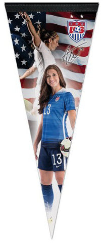 "Alex Morgan ""Superstar"" USA Women's Soccer Team Premium Felt Pennant - Wincraft Inc."
