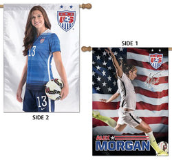 Alex Morgan Team USA Women's Soccer Action Premium 2-Sided Wall Banner - Wincraft