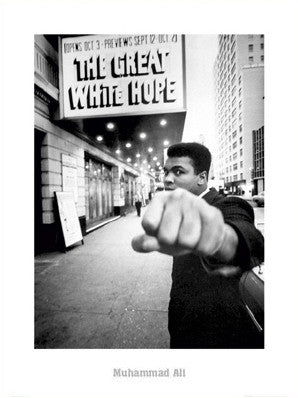 "Muhammad Ali ""Broadway"" Classic Print - GB Eye"