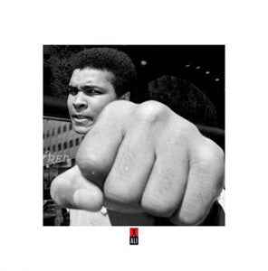 "Muhammad Ali ""Talk to the Fist"" Boxing Poster - Pyramid Posters (UK)"