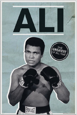 "Muhammad Ali ""The Greatest of All-Time"" Classic Boxing Poster - Pyramid America"
