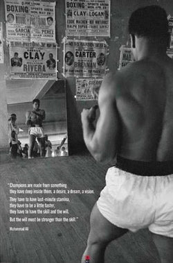 "Muhammad Ali ""The Will"" Classic Boxing Poster - Pyramid Posters 2007"