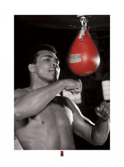 "Muhammad Ali ""Training Portrait"" (c.1965) - Pyramid 2009"