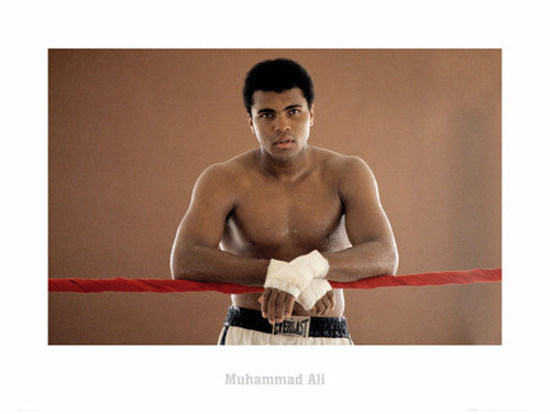 "Muhammad Ali ""Ropes"" Classic Boxing Poster Print - GB Eye Inc."