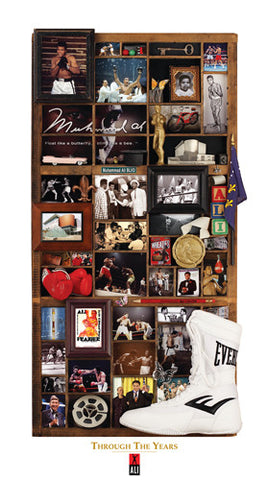 "Muhammad Ali Boxing ""Through the Years"" (LE /2500) Premium Poster Print - Smashgraphix"