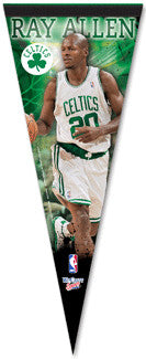 "Ray Allen ""Celtics Action"" Premium Collector's Pennant - Wincraft"