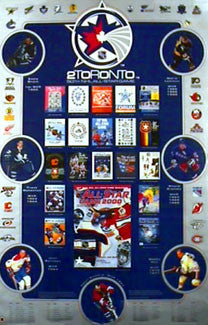 NHL All-Star Game History Poster- Action Images 2000