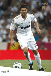 "Xabi Alonso ""Matchday"" 2011/12 Real Madrid Poster - G.E. (Spain)"