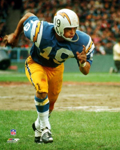 "Lance Alworth ""AFL Classic"" (c.1965) San Diego Chargers Premium Poster Print - Photofile Inc."