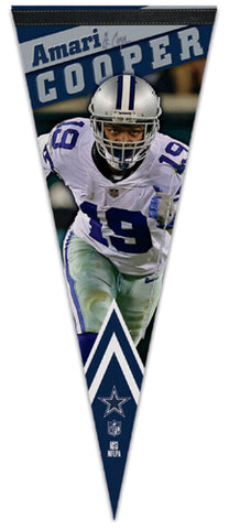 Amari Cooper Dallas Cowboys Signature-Series Premium Felt Collector's PENNANT - Wincraft 2018