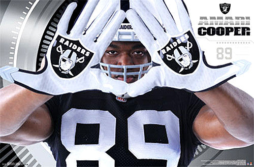 "Amari Cooper ""Hands"" Oakland Raiders NFL Action Poster - Trends International 2015"