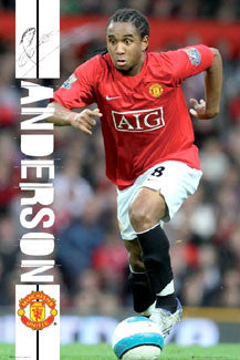 "Anderson ""Signature Action"" - GB Posters 2008"
