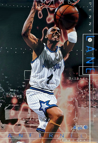 "Anfernee Hardaway ""Penny's Lane"" Orlando Magic NBA Basketball Poster - Costacos 1997"