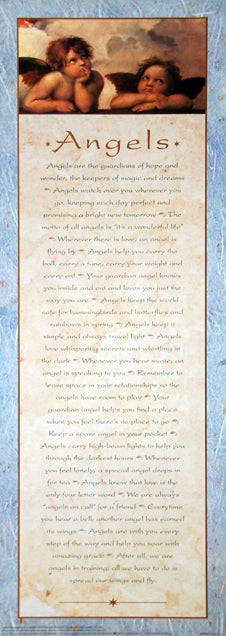 Angels, Guardians of Hope and Wonder Inspirational Poster - Portal Publications