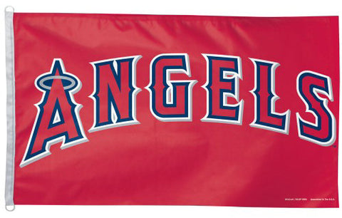 Los Angeles ANGELS Official MLB Baseball 3'x5' Team Banner Flag - Wincraft