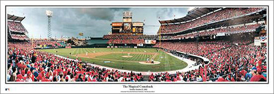 "Anaheim Angels ""The Magical Comeback"" (2002 World Series Game 6) Panoramic Poster Print - Everlasting Images"