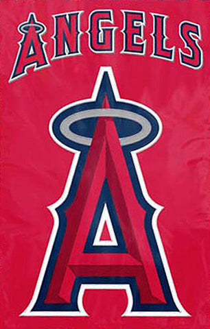Los Angeles Angels Official MLB Premium Applique Team Banner Flag - Party Animal